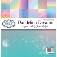 Creative Expressions - 8 x 8 Paper Pad - Dandelion Dreams
