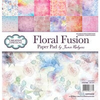Creative Expressions - 8 x 8 Paper Pad - Floral Fusion