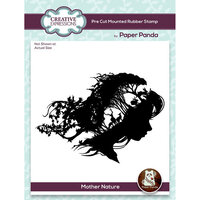 Creative Expressions - Paper Panda - Pre Cut Rubber Stamp - Mother Nature