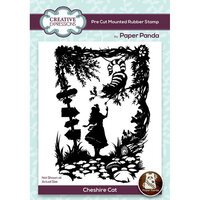 Creative Expressions - Paper Panda - Pre Cut Rubber Stamp - Cheshire Cat