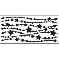 Creative Expressions - DL Stencils - Slimline - Star Garland