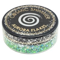 Creative Expressions - Cosmic Shimmer - Aurora Flakes - Icy Lagoon