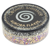 Creative Expressions - Cosmic Shimmer - Aurora Flakes - Oriental Fire
