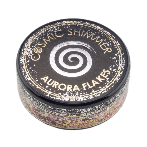 Creative Expressions - Cosmic Shimmer - Aurora Flakes - Golden Rose