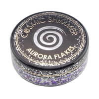 Creative Expressions - Cosmic Shimmer - Aurora Flakes - Frosted Violet