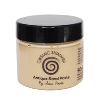 Creative Expressions - Cosmic Shimmer - Antique Sand Paste - Creamy Mango