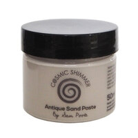 Creative Expressions - Cosmic Shimmer - Antique Sand Paste - Shabby Truffle