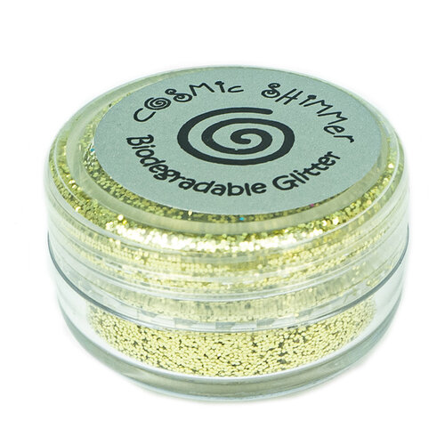 Creative Expressions - Cosmic Shimmer - Biodegradable Glitter - Lemon Drop