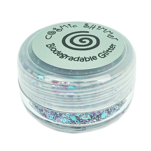 Creative Expressions - Cosmic Shimmer - Biodegradable Glitter Mix - Blue Opal