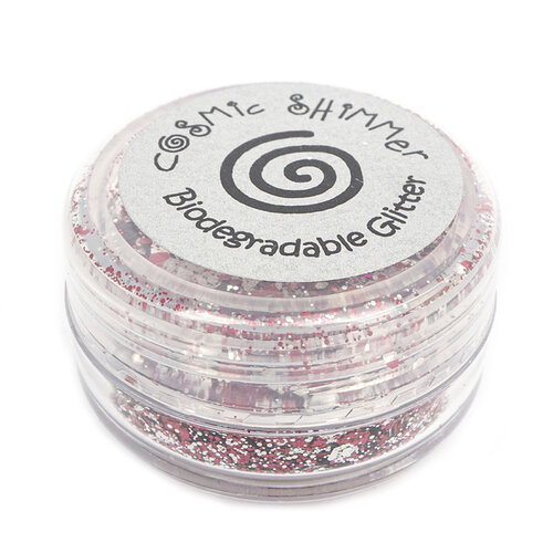 Creative Expressions - Cosmic Shimmer - Biodegradable Glitter Mix - Raspberry Ripple