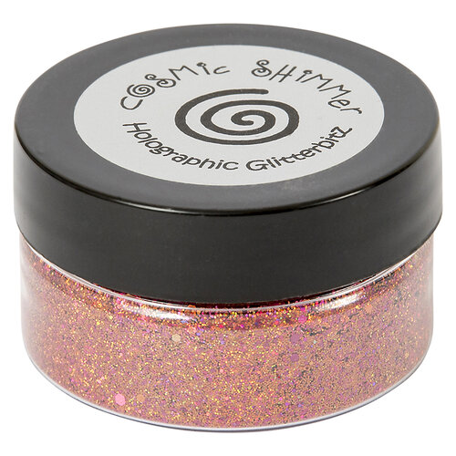 Creative Expressions - Cosmic Shimmer - Holographic Glitterbitz - Coral Red