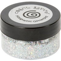 Creative Expressions - Cosmic Shimmer - Holographic Glitterbitz - Silver Gems