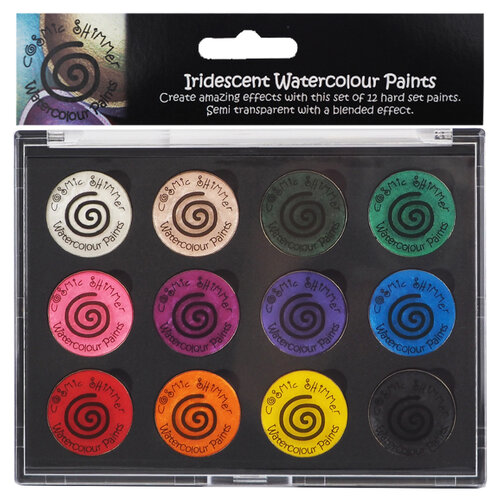 Creative Expressions - Cosmic Shimmer - Iridescent Watercolour Palette - Set 2 - Carnival Brights