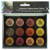 Creative Expressions - Cosmic Shimmer - Iridescent Watercolour Palette - Set 3 - Autumn Sunrise