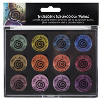 Creative Expressions - Cosmic Shimmer - Iridescent Watercolour Palette - Set 6 - Antique Shades