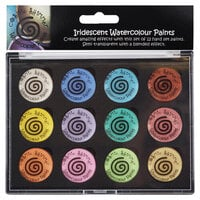 Creative Expressions - Cosmic Shimmer - Iridescent Watercolour Palette - Set 8 - Perfect Pastels