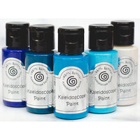 Creative Expressions - Cosmic Shimmer - Kaleidoscope Paint Set - Marine