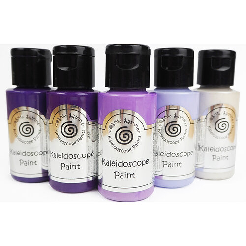Creative Expressions - Cosmic Shimmer - Kaleidoscope Paint Set - Purple Passion