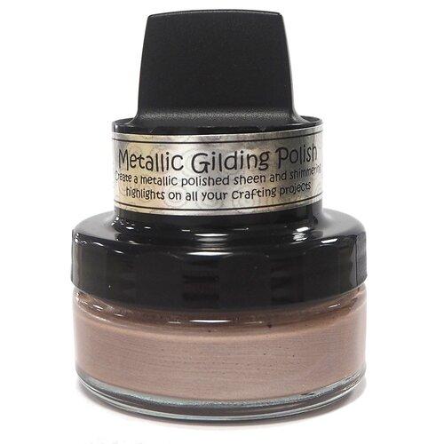 Creative Expressions - Cosmic Shimmer - Metallic Gilding Polish - Silver Hessian