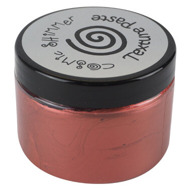 Creative Expressions - Cosmic Shimmer - Pearl Texture Paste - Deep Red