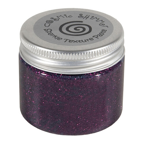 Creative Expressions - Cosmic Shimmer - Sparkle Texture Paste - Rich Plum