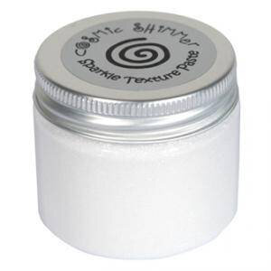 Creative Expressions - Cosmic Shimmer - Sparkle Texture Paste - Polar White