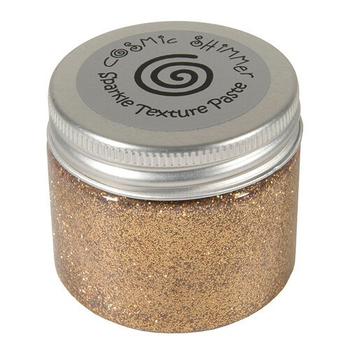 Creative Expressions - Cosmic Shimmer - Sparkle Texture Paste - Warm Gold