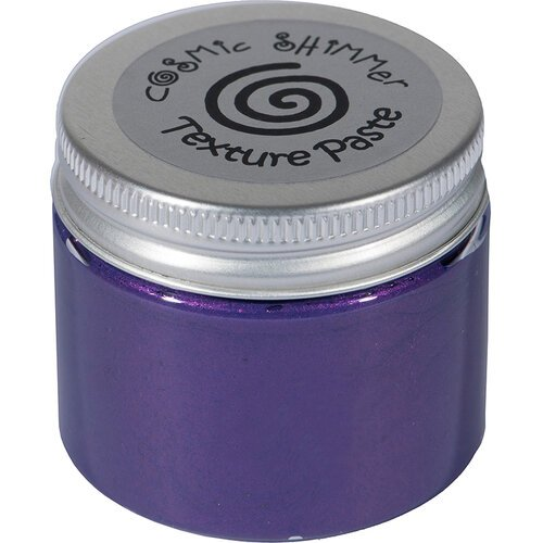 Creative Expressions - Cosmic Shimmer - Pearl Texture Paste - Decadent Grape