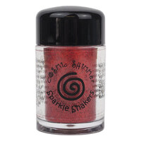 Creative Expressions - Cosmic Shimmer - Sparkle Shaker - Cherry Red