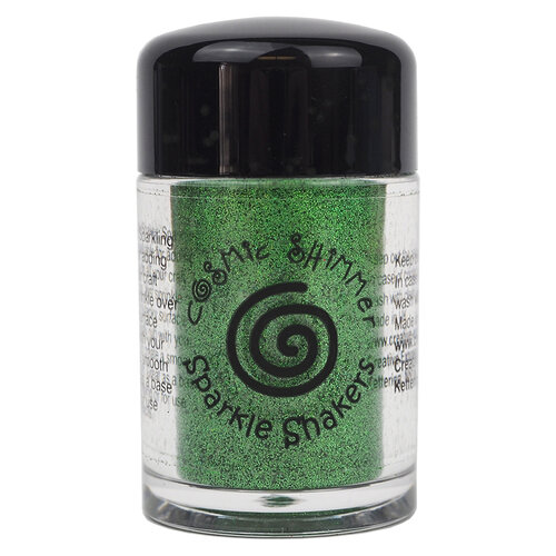 Creative Expressions - Cosmic Shimmer - Sparkle Shaker - Emerald Green