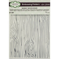 Creative Expressions - Embossing Folder - Skinny Woodgrain