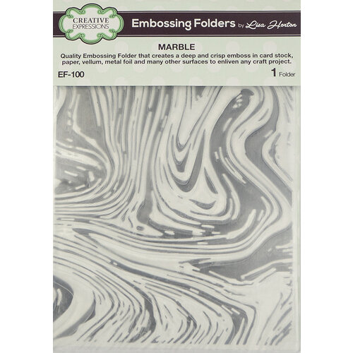 Creative Expressions - Embossing Folder - Marble
