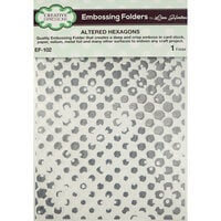 Creative Expressions - Embossing Folder - Altered Hexagons