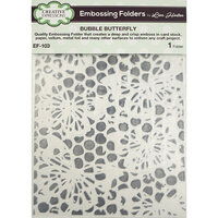 Creative Expressions - Embossing Folder - Bubble Butterfly