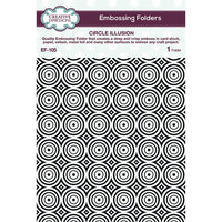 Creative Expressions - Embossing Folder - Circle Illusion