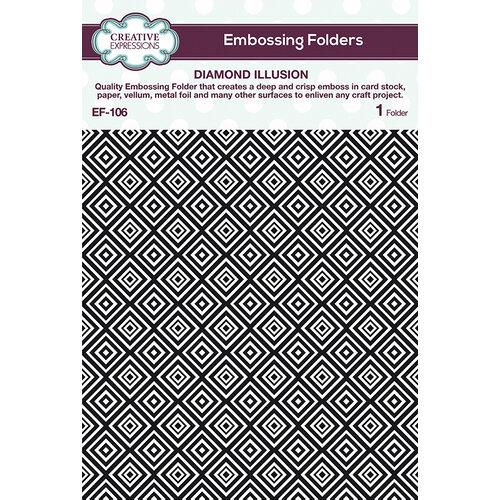Creative Expressions - Embossing Folder - Diamond Illusion