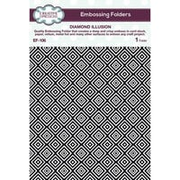 Creative Expressions - Embossing Folder - Diamond Illusion