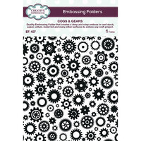 Creative Expressions - Embossing Folder - Cogs and Gears