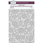 Creative Expressions - 3D Embossing Folder - Paisley Daisy