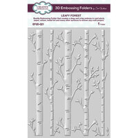 Creative Expressions - 3D Embossing Folder - Leafy Forest