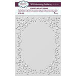 Creative Expressions - 3D Embossing Folder - Forget-me-not Frame