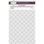 Creative Expressions - 3D Embossing Folder - Quilted Heart