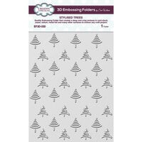 Creative Expressions - 3D Embossing Folders - Stylised Trees