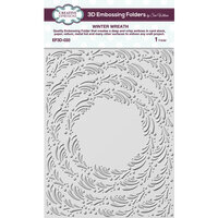 Creative Expressions - 3D Embossing Folders - Winter Wreath