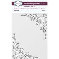 Creative Expressions - 3D Embossing Folder - Symmetry In Play