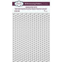 Creative Expressions - 3D Embossing Folder - Graduated Dots