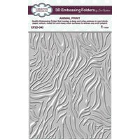 Creative Expressions - 3D Embossing Folder - Animal Print