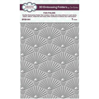 Creative Expressions - 3D Embossing Folder - Fan Palms