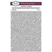 Creative Expressions - 3D Embossing Folder - Fanciful Flowers