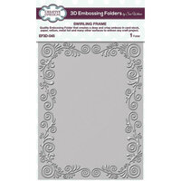 Creative Expressions - 3D Embossing Folder - Swirling Frame